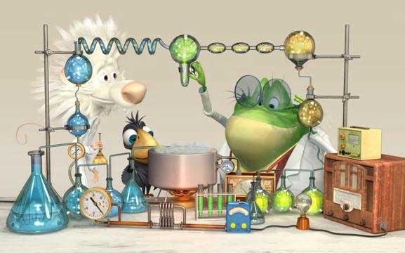انیمیشن گروه تحقیق ق 15
