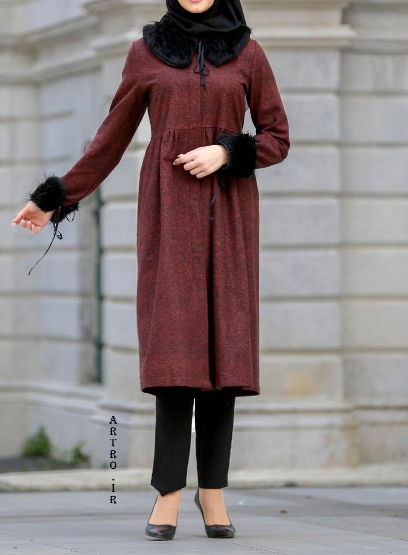 مدل مانتو زمستانی بلند