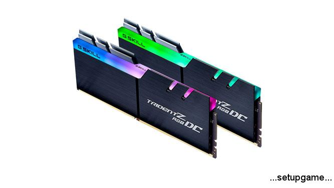 کیتهای حافظه 64 گیگابایتی G.Skill Trident Z RGB DC معرفی شدند