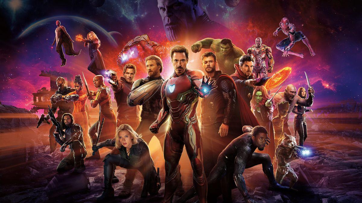 فیلم Avengers: Infinity War 2018 کیفیت بلوری + دوبله فارسی