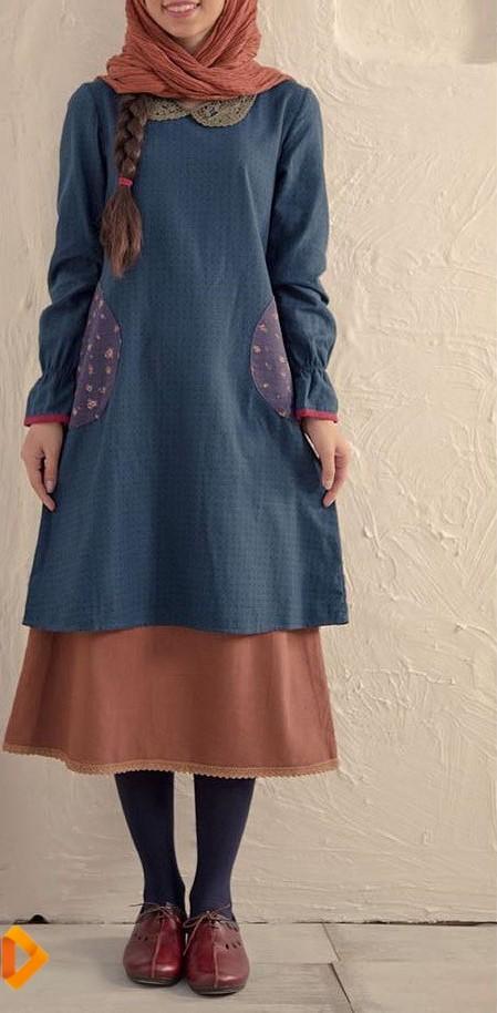 مدل مانتو دخترانه ایرانی 97