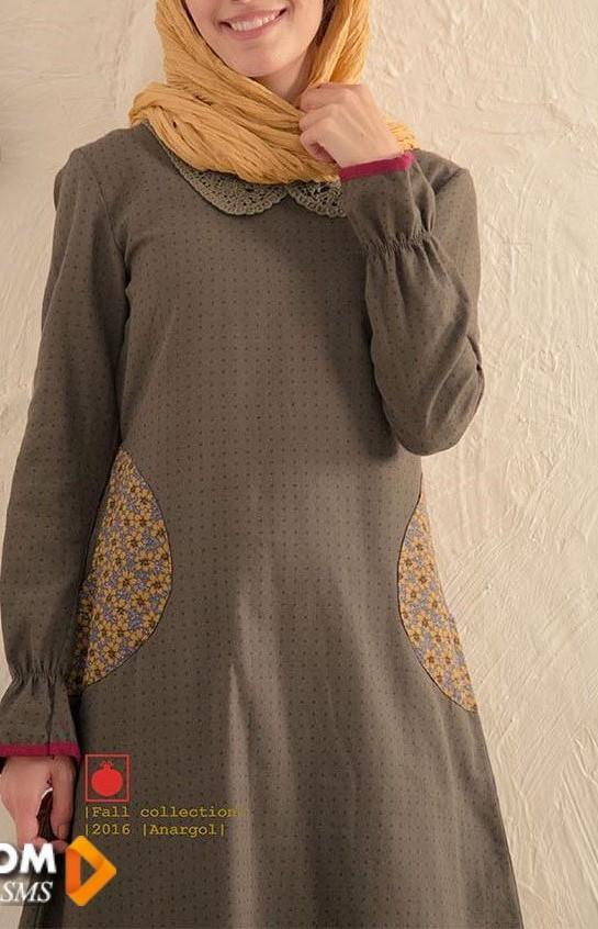 مدل مانتو دخترانه ایرانی بلند