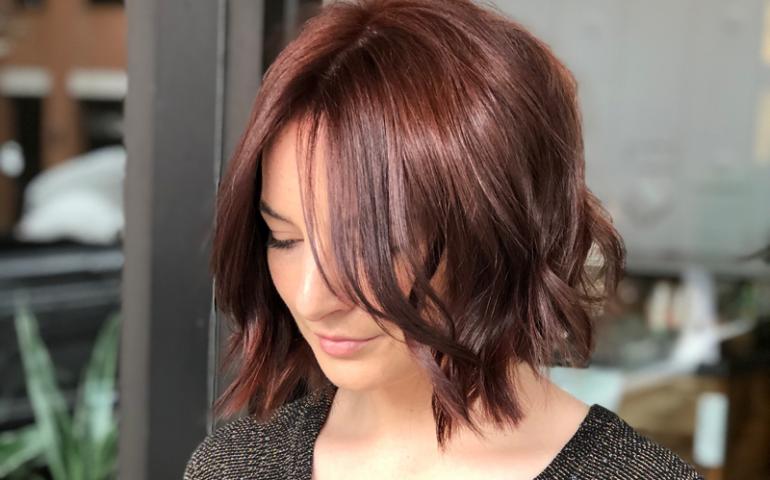 مدل موی کوتاه برای صورت کشیده