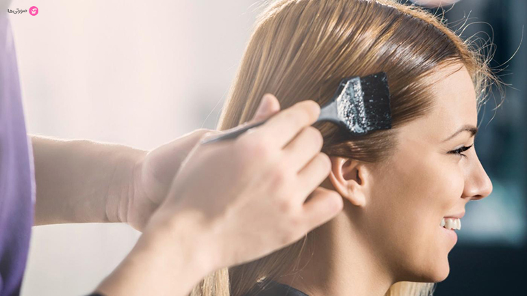 پاک کردن رنگ مو از پوست