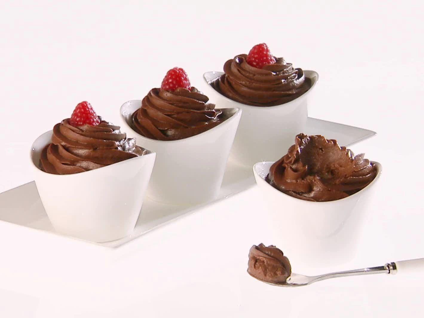 طرز تهیه موس شکلات دسری فرانسوی