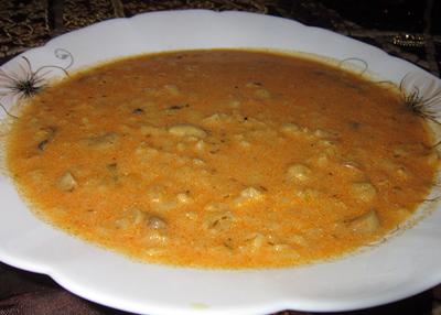 طرز تهیه سوپ قارچ و جو پرک به روش دیگر
