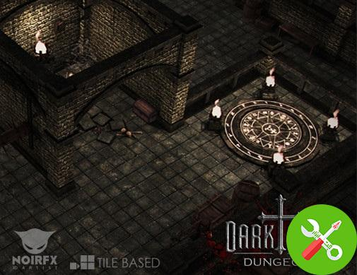 محیط یونیتی Dark Ages: Dungeon I