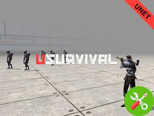 پروژه کامل یونیتی uSurvival