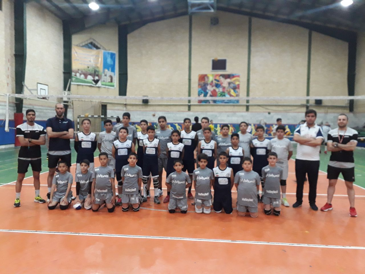 مسابقه تدارکاتی با آکادمی تخصصی والیبال البرز مشهد مورخه 13 مهرماه - مشهد