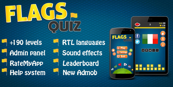 سورس بازی Flags Quiz