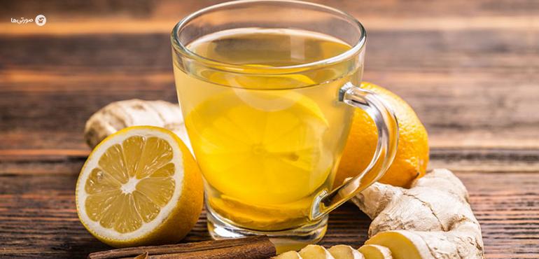 چای زنجبیل برای سرماخوردگی