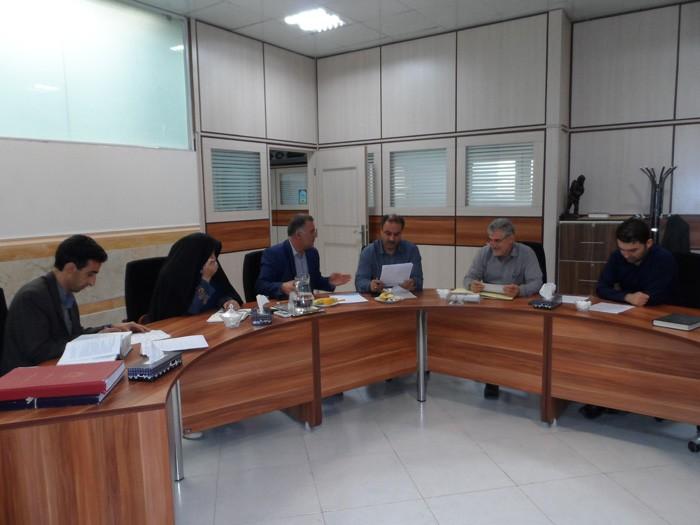 جلسه دوره پنجم شورای اسلامی شهر وحیدیه برگزار شد.