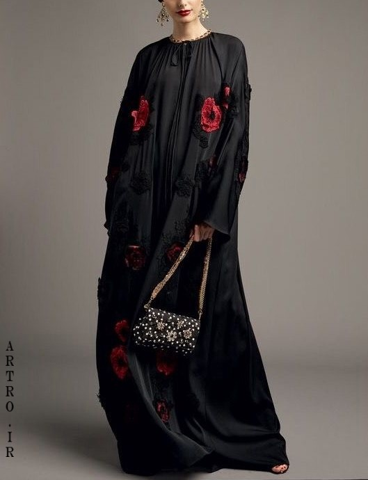 مدل مانتو تابستانی عربی