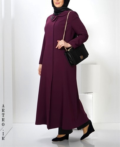 عکس مدل مانتو زنانه سایز بزرگ1