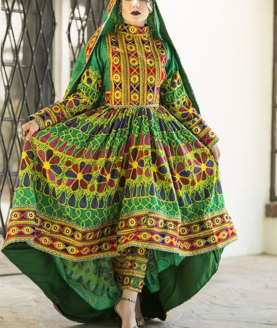 مدل لباس افغانی زنانه جدید 3