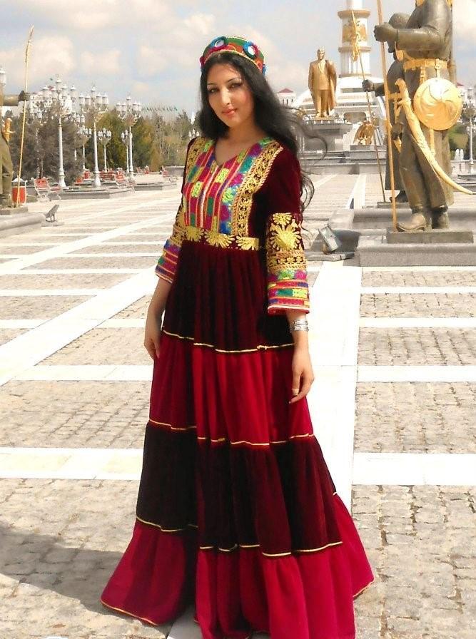 مدل لباس افغانی زنانه جدید 7