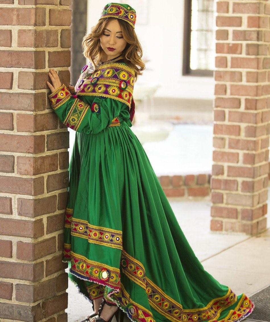 مدل لباس افغانی زنانه جدید 8