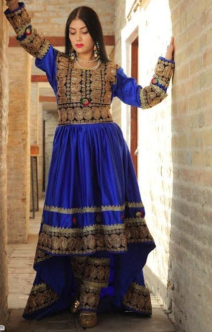 مدل لباس زنانه افغانی2