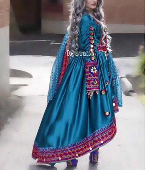 مدل لباس زنانه افغانی4