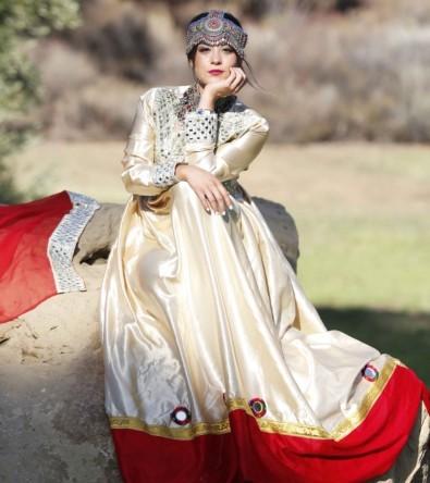 مدل لباس زنانه افغانی5