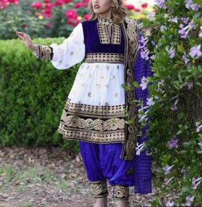 مدل لباس زنانه افغانی6