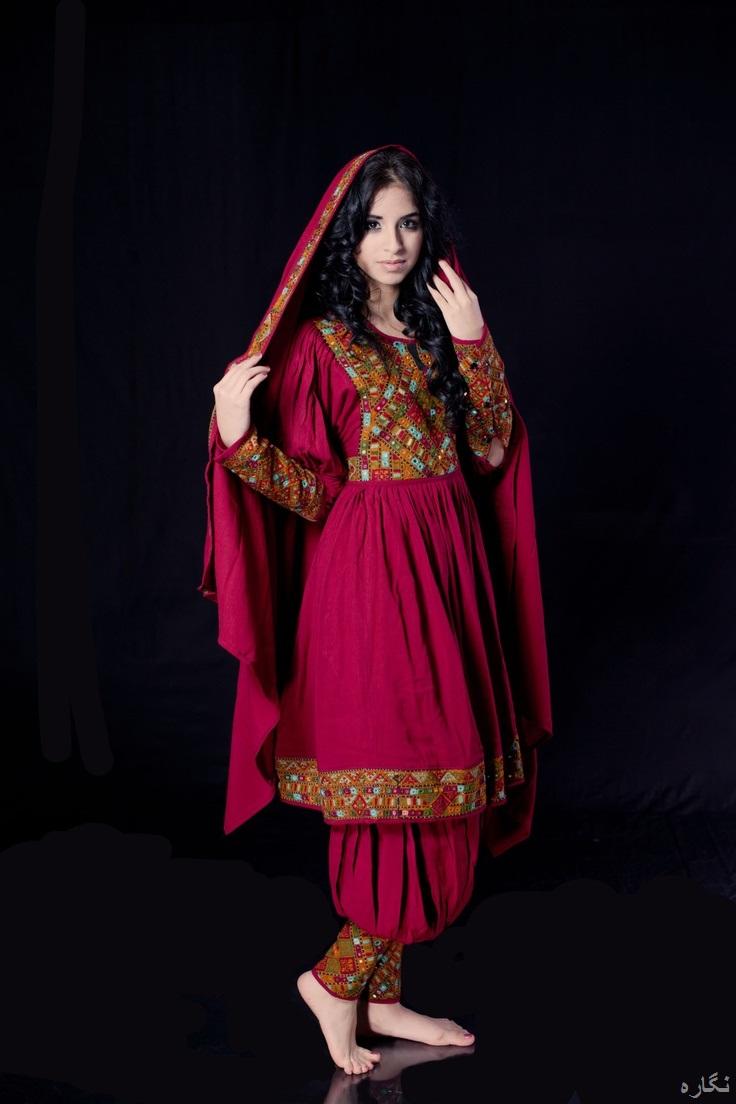 مدل لباس افغانی زنانه جدید 2