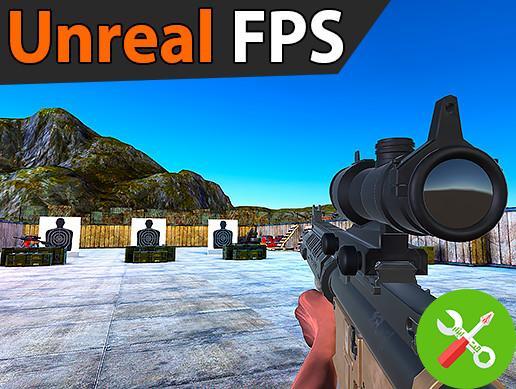 پروژه کامل یونیتی Unreal FPS
