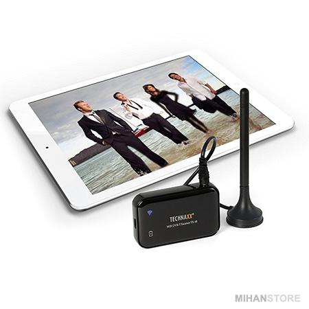 گیرنده دیجیتال موبایل WiFi Technaxx Wifi Dvb-t Receiver Tx-48
