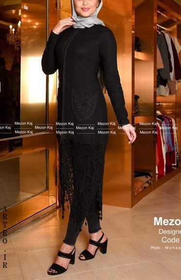 مدل مانتو بلند دخترانه