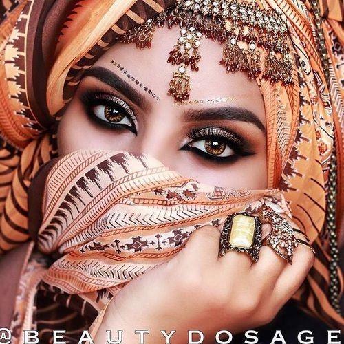 مدل آرایش چشم برای چشمهای درشت 3