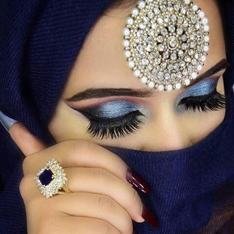 مدل آرایش چشم برای چشمهای درشت 4