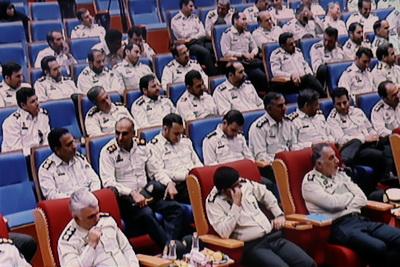 كارگاه آموزشی نیروی انتظامی غرب استان تهران در سالن همایش خلیج فارس شهر وحیدیه