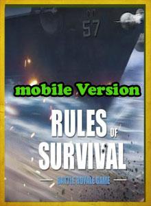 دانلود چیت موبایل بازی Rules of Survival (نسخه معمولی موبایل)
