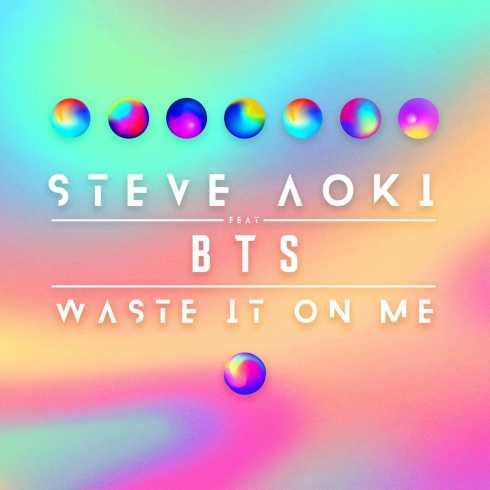 دانلود آهنگ Waste It On Me از BTS و Steve Aoki با کیفیت 320 و 128