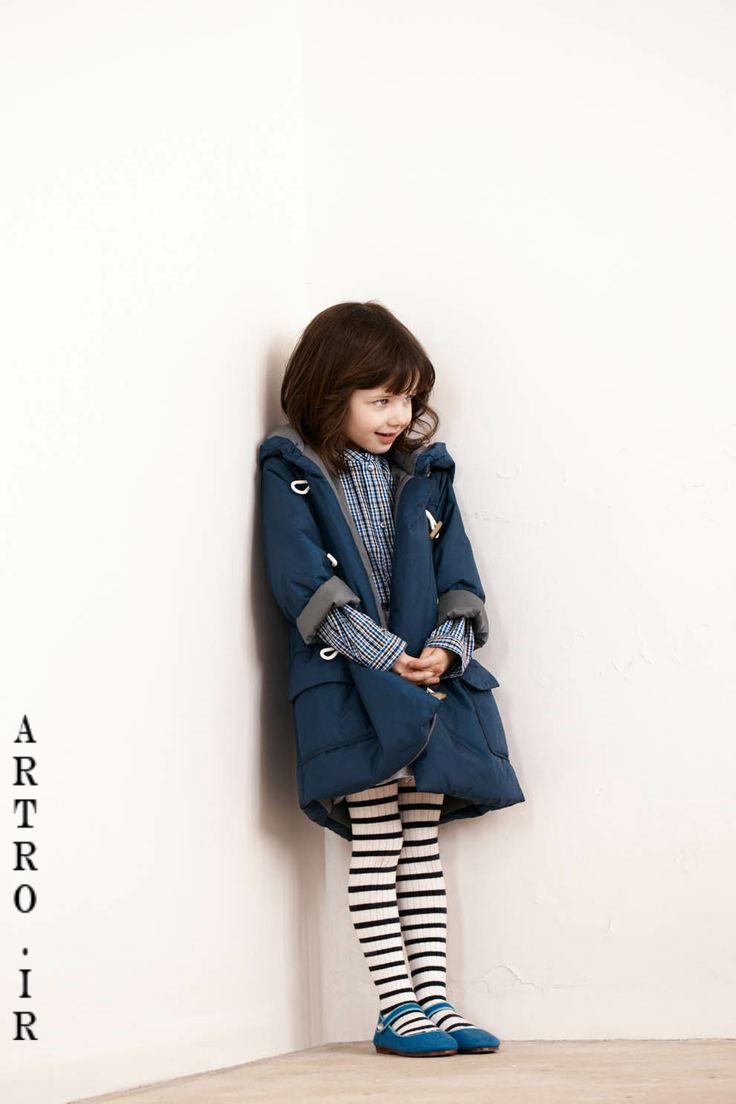 جدیدترین مدل پالتو دختر بچه ها 8