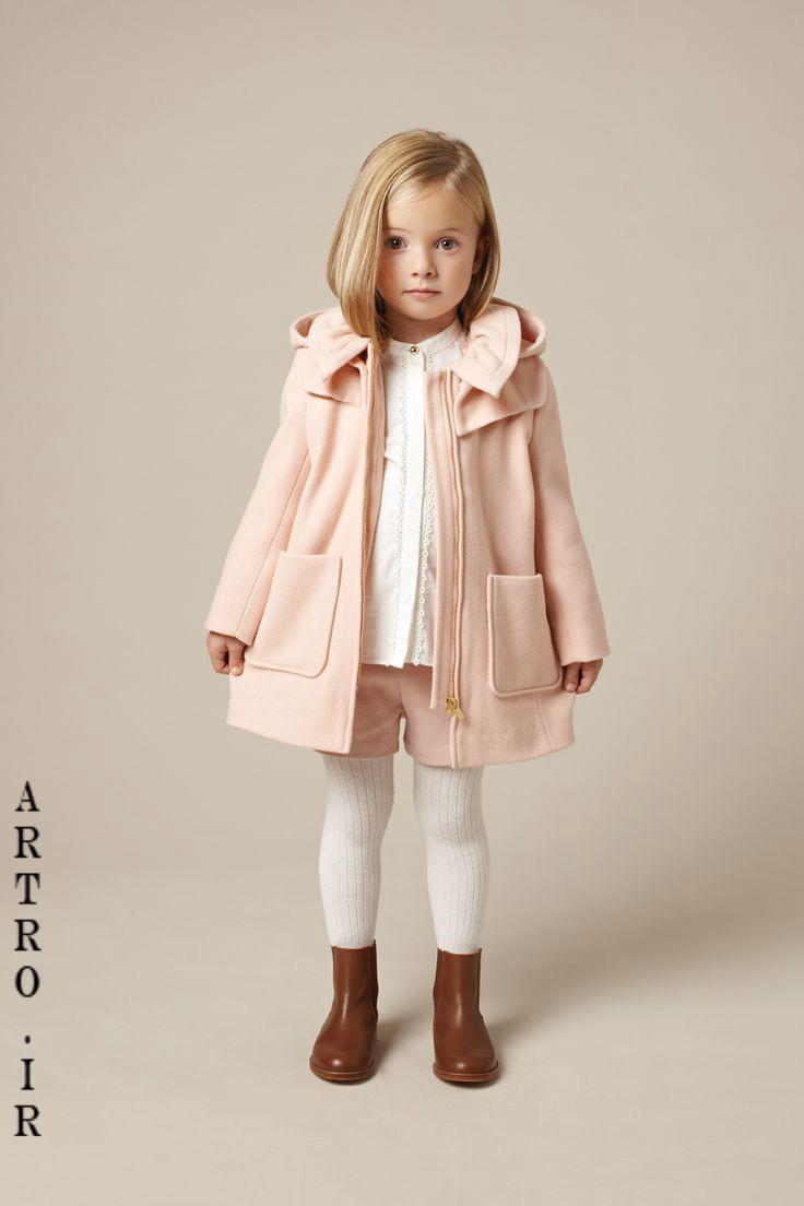 جدیدترین مدل پالتو دختر بچه ها 10