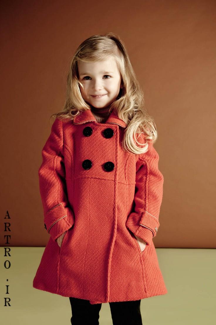 جدیدترین مدل پالتو دختر بچه ها 13