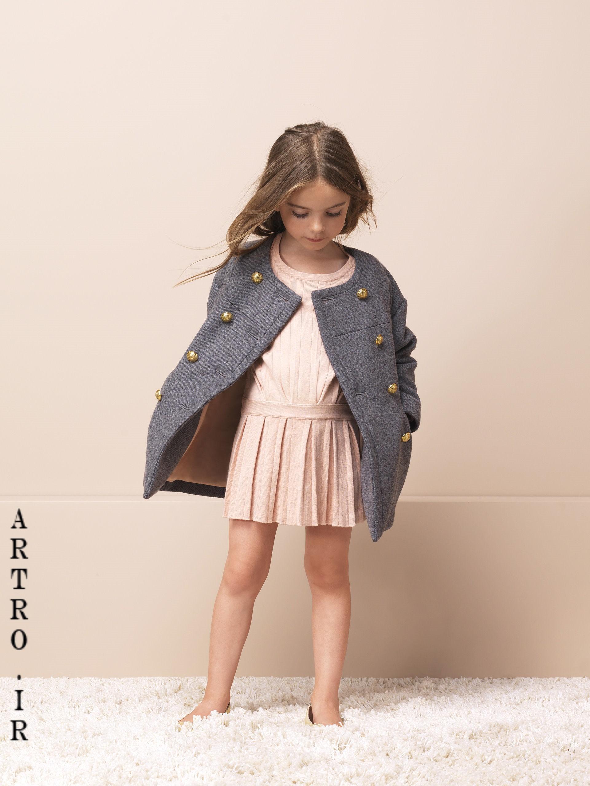 جدیدترین مدل پالتو دختر بچه ها 4