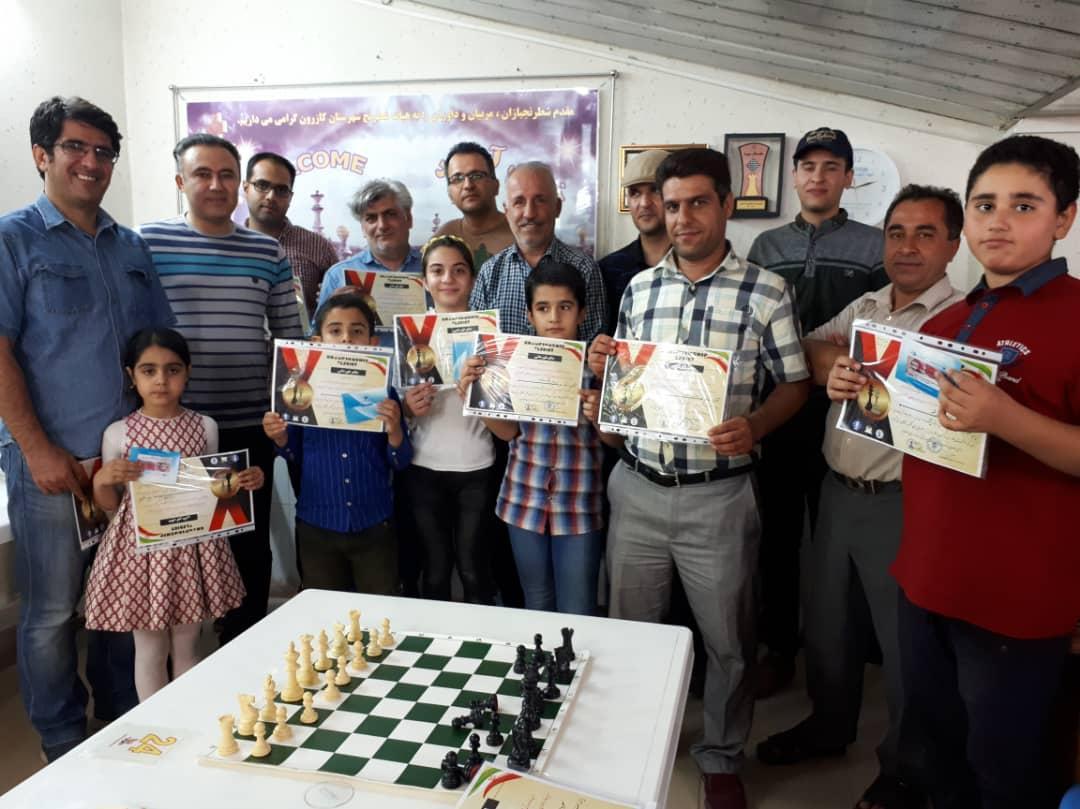 ♻  برگزاری باشکوه مسابقات شطرنج رپید جام تربیت بدنی♻
