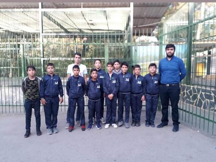 اردوی سیاحتی و زیارتی بازیکنان منتخب باشگاه تخصصی والیبال ثامن فاروج به مشهد مقدس رده سنی مینی والیبال