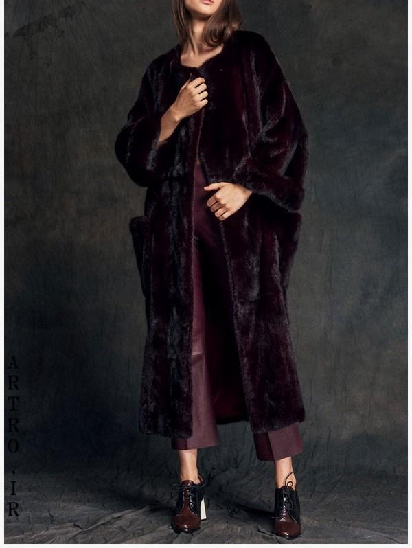 مدل پالتو پوست جدید زنانه9