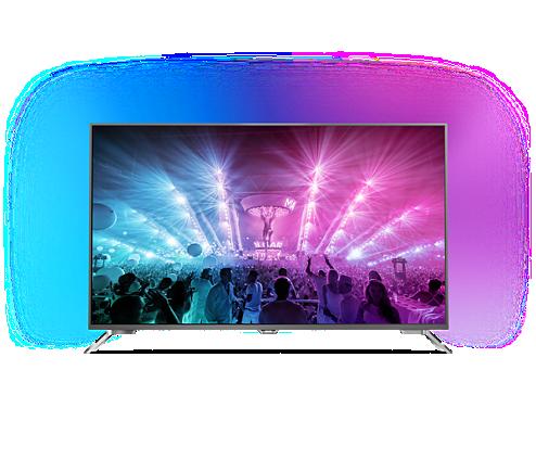 تلویزیون 4K فیلیپس 65PUS7101