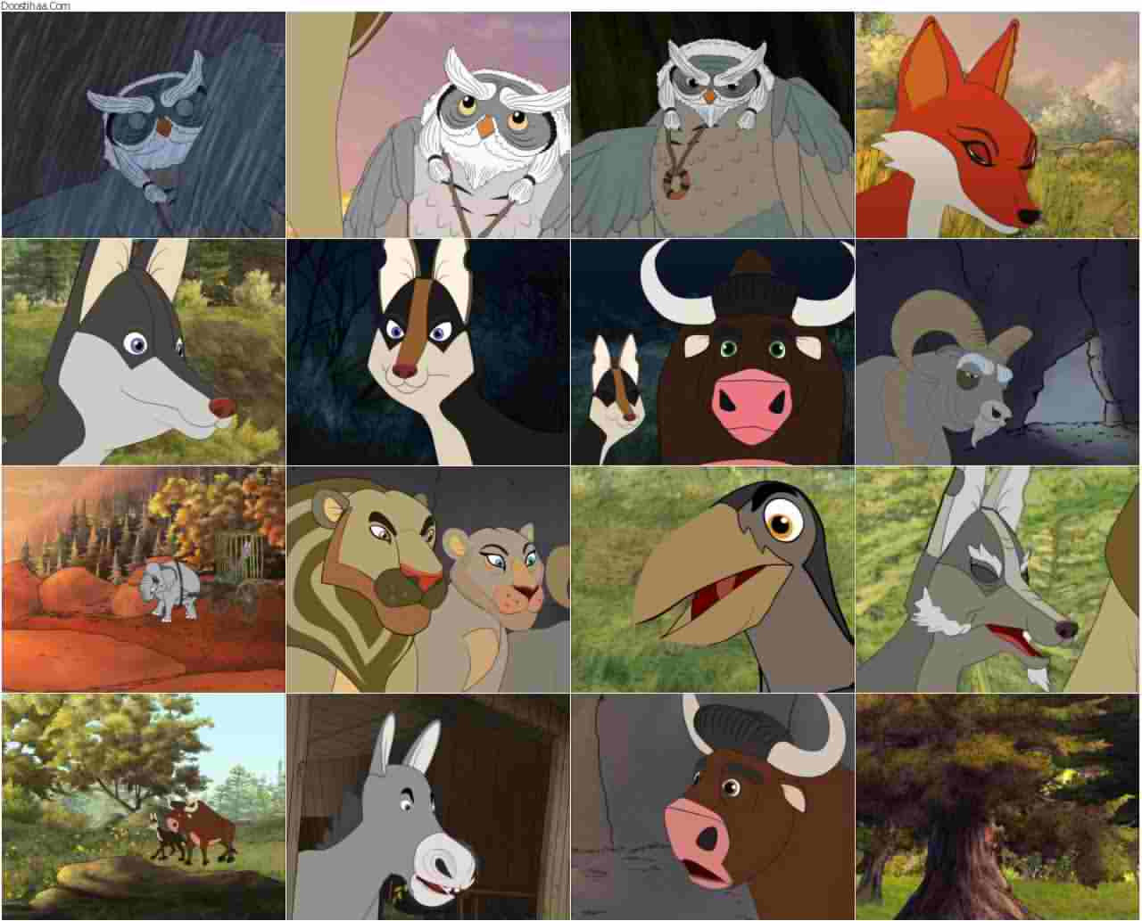 تصاویر انیمیشن کلیله و دمنه