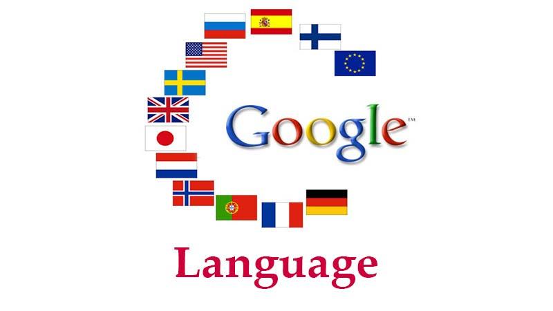 تغییر زبان گوگل در گوشی و کامپیوتر