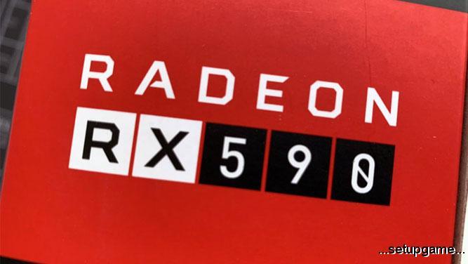 اولین تصاویر از کارت گرافیک Radeon RX 590 منتشر شد؛ سریع تر از GTX 1060