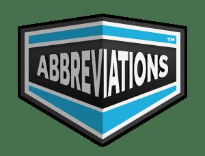 Abbreviation اختصار