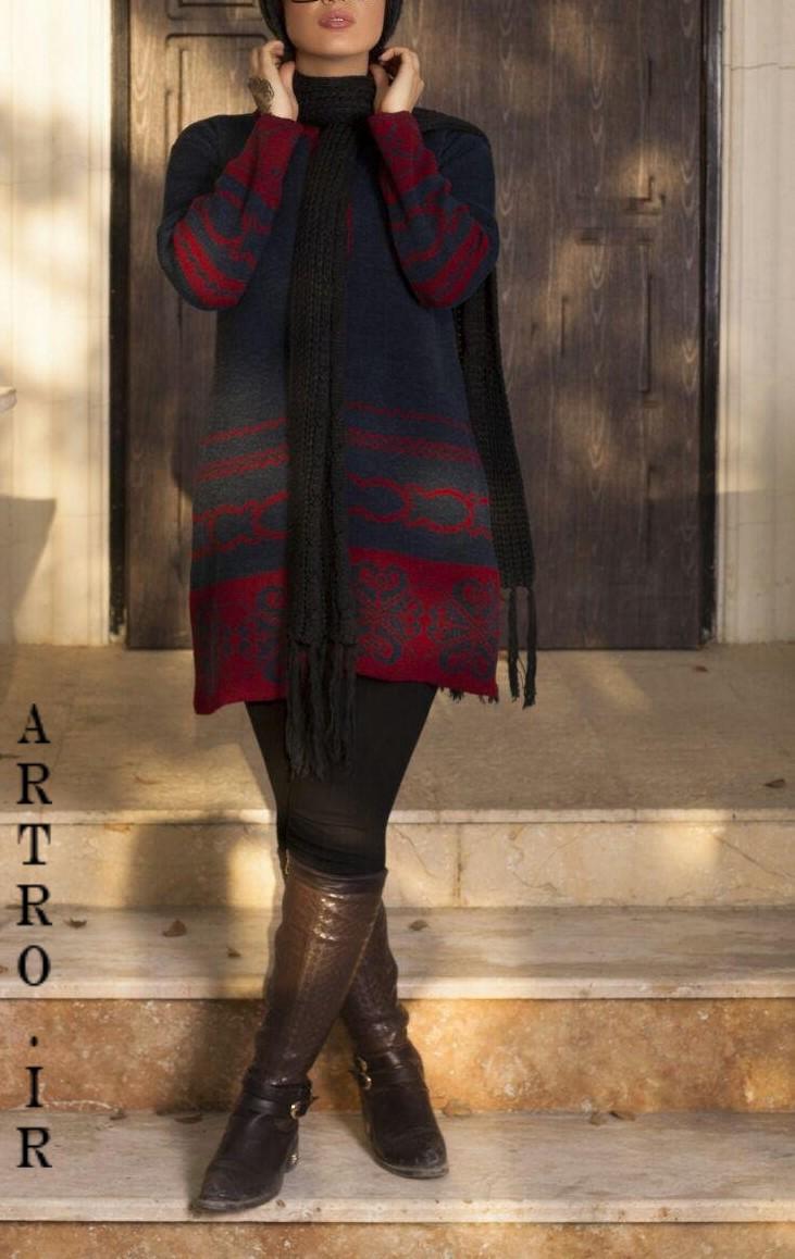 مدل مانتو بافتنی زنانه جدید