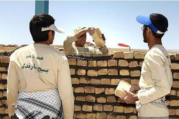 فعالیتهای جهادی حدود ۱۰۰ بسیجی در روستاهای محروم اصفهان