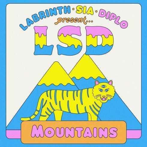 دانلود آهنگ Mountains از Sia و LSD و Diplo و Labrinth | با متن