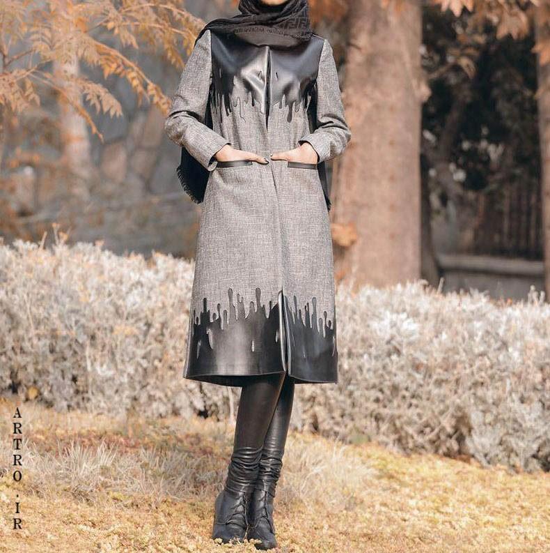 مدل مانتو پاییزه دخترانه اینستاگرام